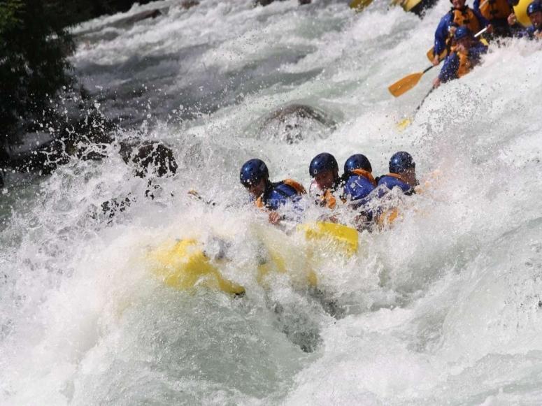 Un salto in acqua