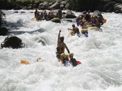 Rafting da 2ore e 45 fiume Noce in Val di Sole