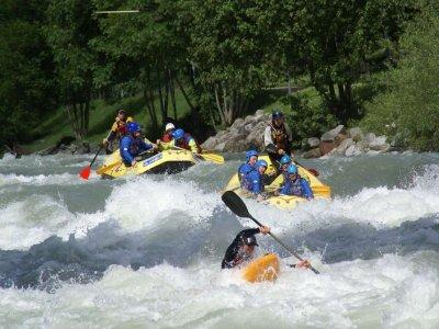 Rafting lunga distanza, 3 ore e 30 fiume Noce