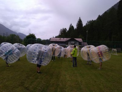 Bubble Football partita di 2 ore a Dimaro