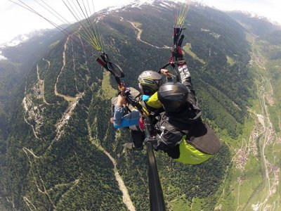 Volo Parapendio Biposto 1h 45m Dolomiti di Brenta