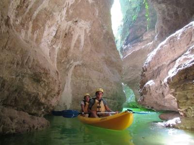 Escursione in Canoa di 3 ore sul Rio Novella