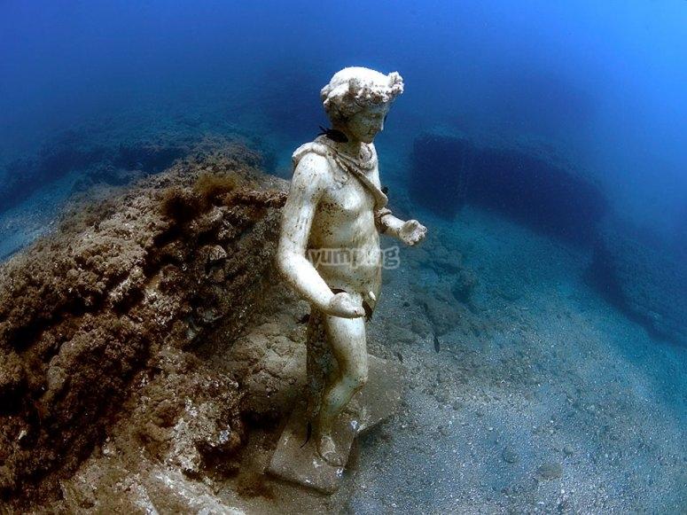 Arte in fondo al mare