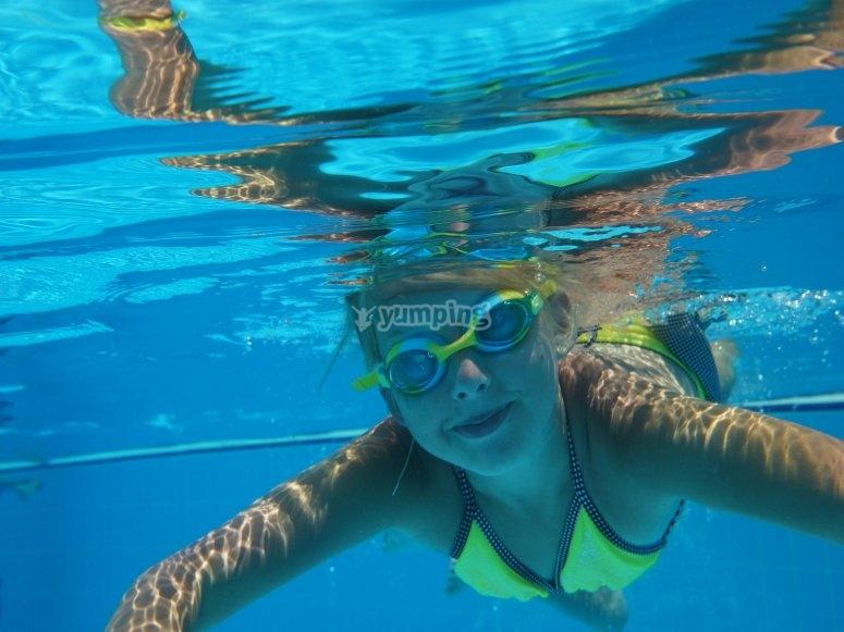 Si nuota!!