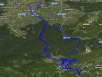 Different hiking routes