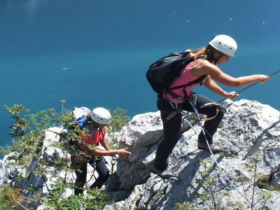 Vie Ferrate Bennini nelle Dolomiti di Brenta 6h