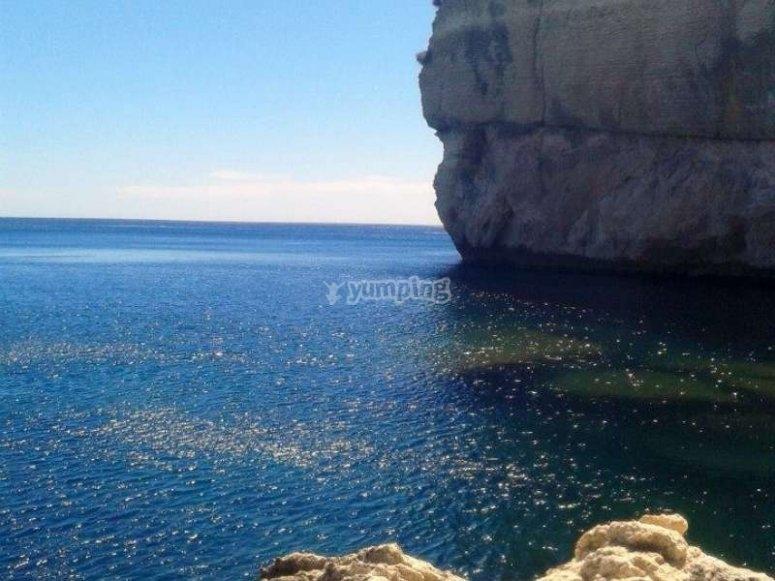 Le acque cristalline della Sardegna!