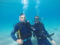 Diving in the seabed