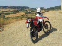 Campagna Toscana in moto