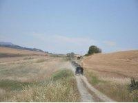 Le colline del Chianti in fuoristrada