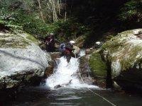 Una sfida di canyoning
