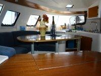 Gli interni del nostro catamarano