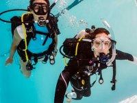 Diving nei fondali cristallini