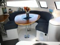 Spazi comuni in catamarano