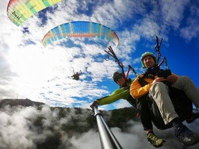 Volo parapendio foto e video, 10 min, Campo Tures