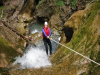 Canyoning esperti 6 ore sul Rio Nero