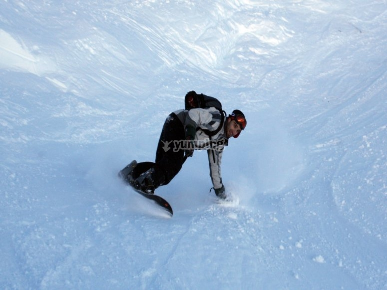 La magia dello snowboard