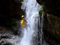 canyoning nel fiume