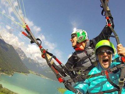 Volo in Parapendio sul Lago Achensee 15 minuti