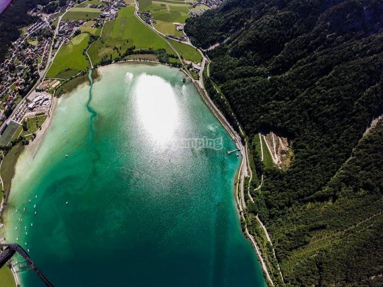 La vista del Lago