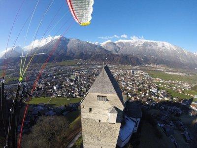 Volo in parapendio a Schwaz Tirolo 15 minuti