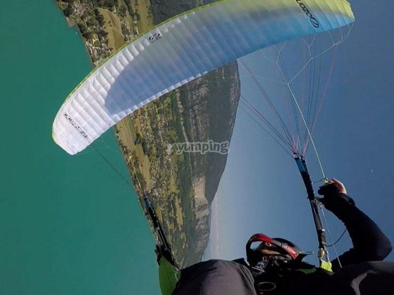 Paragliding in Bergeggio