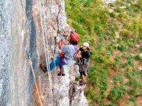 Corsi di scalata su roccia