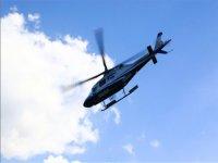 in cielo in elicottero
