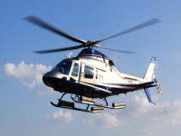 In elicottero