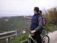 Candia in bici