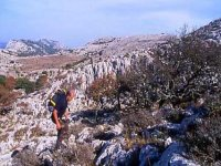 Crossing of Monte Albo