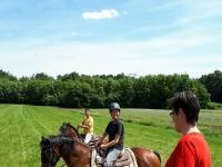 Si parte per l'escursione a cavallo