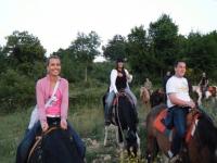 Passeggiata a cavallo per i colli Montena