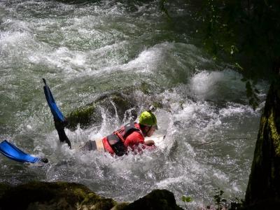 Hydrospeed sul fiume Tanagro di 3 ore