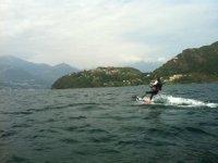Wakeboard sul lago di Como