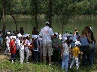 Trekking fiume Sosio bambini