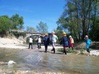Trekking sul fiume