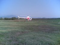 Elicottero ad Aero Club Tucano
