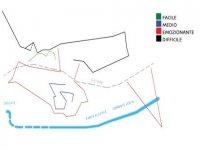 Mappa Del Parco RIo Centa