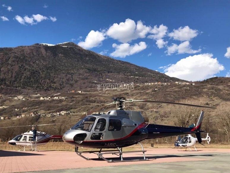 Alcuni dei nostri elicotteri
