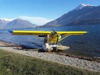 Volo con pilotaggio idrovolante Monte Marenzo