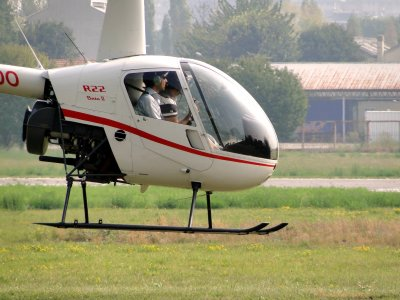 Acclimatization flight in Cuneo helicopter 12 min