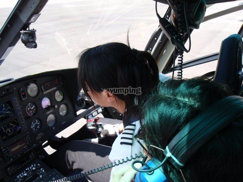Comandi dell'elicottero