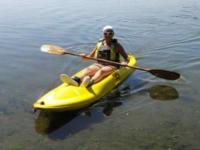 Noleggio canoa singola Badolato Marina di 1 ora