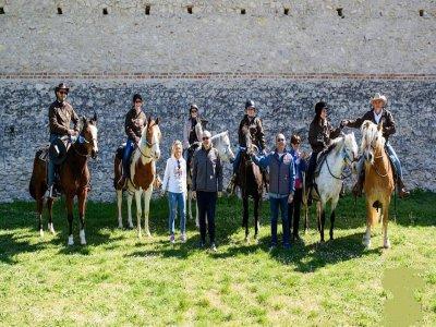 Passeggiata a cavallo a Verona di mezza giornata
