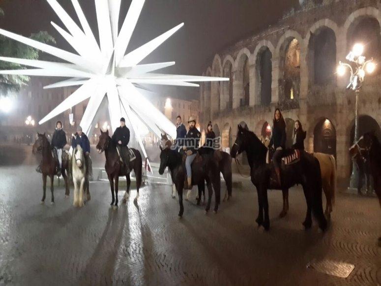 Escursione per le strade Veronesi