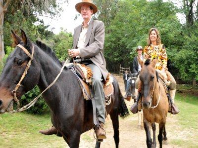 Escursione a cavallo a Verona di una giornata