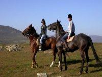Passeggiata a cavallo con messa in sella a Venezia