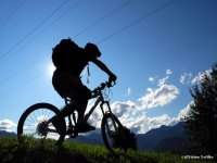 Silhouette Mountain Bike