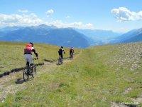 Mountain Bike nella natura